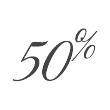 50pourcent - Service d'Étage